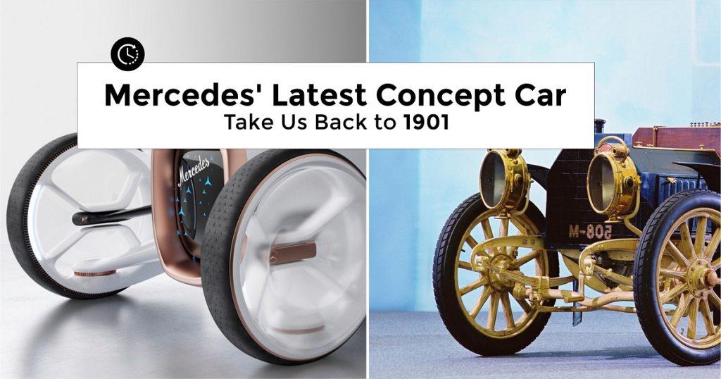 Mercedes latest concept car