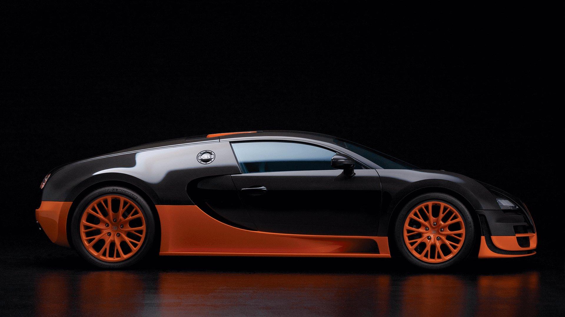 Bugatti Veyron Super Sport - Fastest cars in the world 2020
