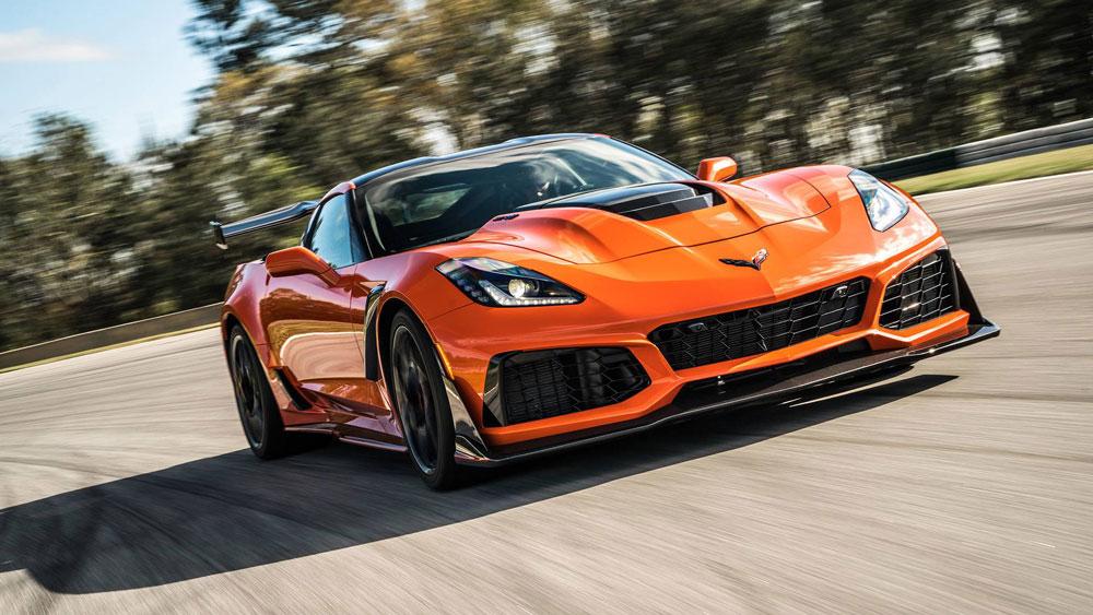 Chevrolet Corvette ZR1 - Fastest cars in the world 2020