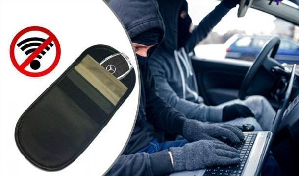 Car key signal blocker and protector