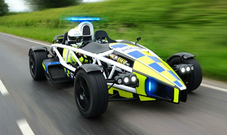 Fastest police cars in the world - Ariel Atom - The United Kingdom
