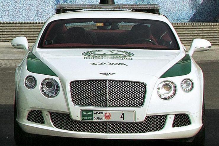 Fastest police cars in the world - Bentley Bentayga - Dubai