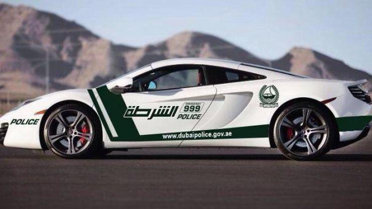 Fastest police cars in the world - Ferrari LaFerrari - Dubai