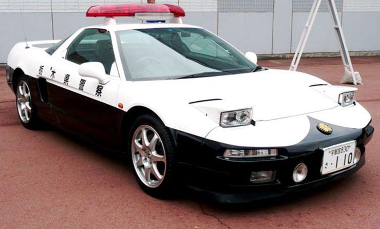 Fastest police cars in the world - Honda NSX - Japan