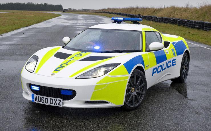 Fastest police cars in the world - Lotus Evora - The United Kingdom