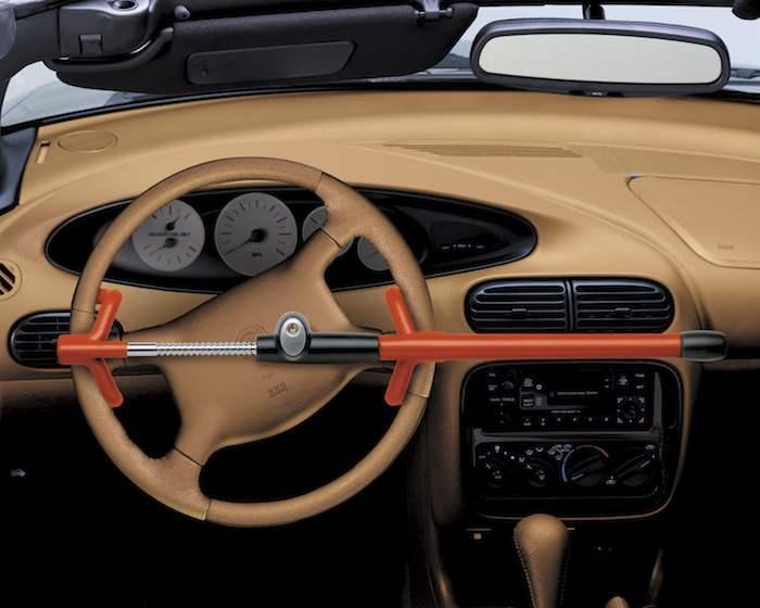 Steering wheel lock