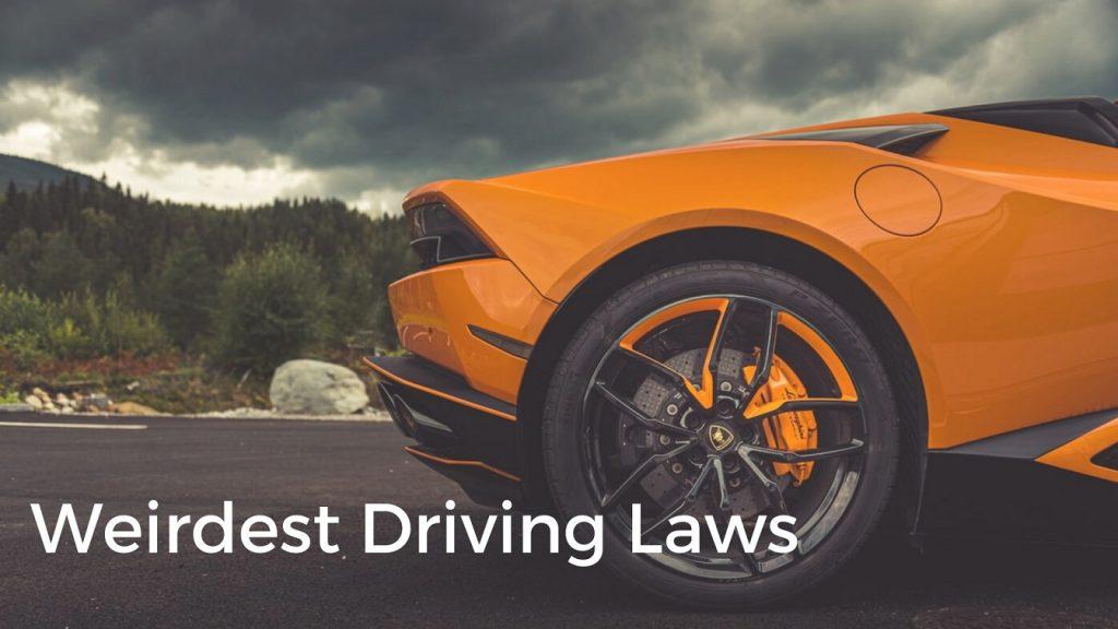 Weirdest Driving Laws - Cheki Nigeria