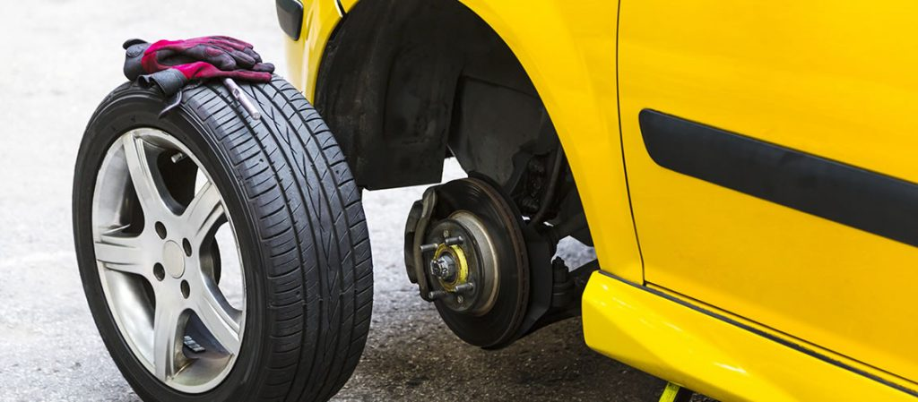 Change Car Tyres