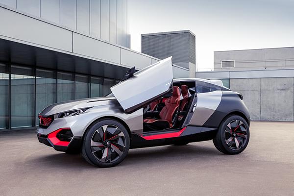 Peugeot Quartz concept car 25