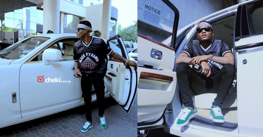 Wizkid - Nigerian celebrities love cars - Cheki Nigeria