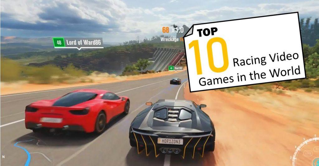 Racing video games 3