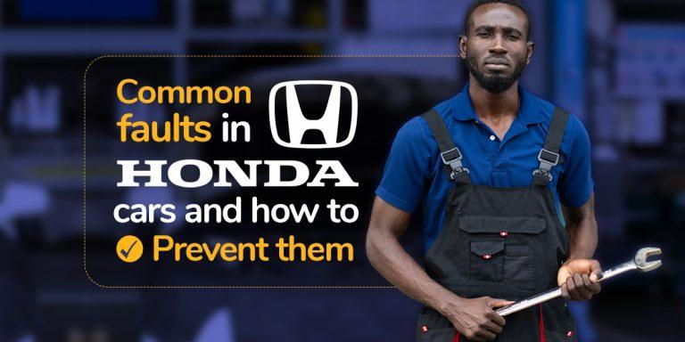 Common Faults in Honda Cars - Autochek